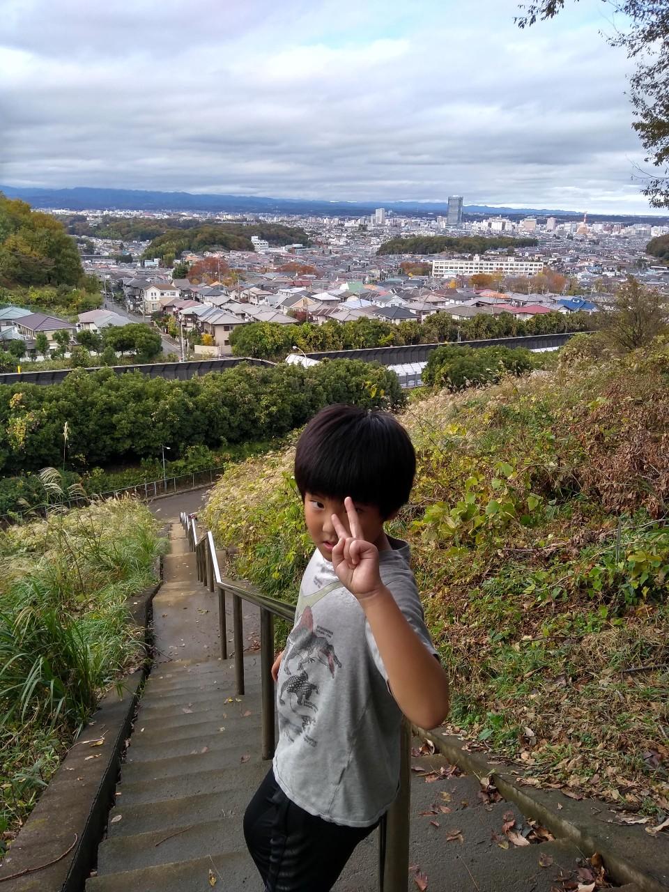 階段ダッシュ